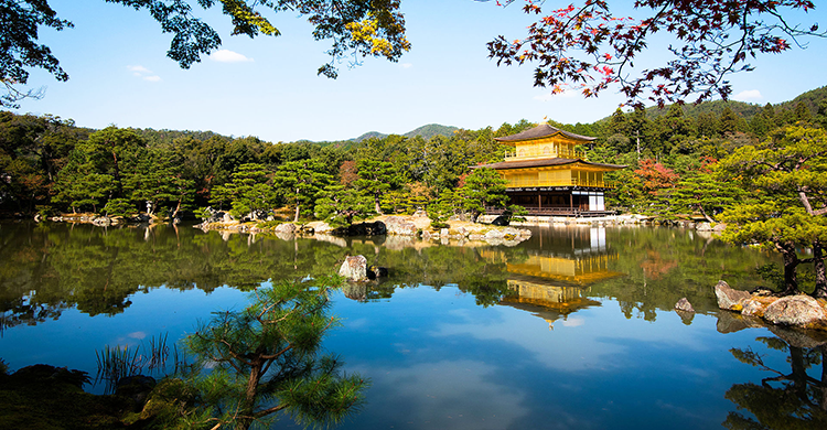 Japansk borg i japansk have